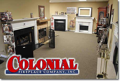 Colonial Fireplace Co logo