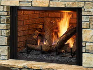 Colonial Fireplace - Heatilator Gas Fireplaces